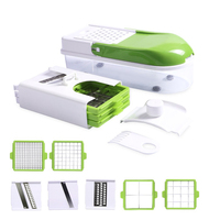Multifunction Vegetable Slicer Manual Potato Peeler Carrot Grater Food Fruit Slicers Kitchen Tools Gadgets With 8 Dicing Blades