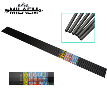 100 pcs od 9 mm id 7 mm arrow nocks plastic nock for 6 8 6 9 mm arrows shaft compound recurve bow hunting and shooting archery 24 Pcs Archery  Carbon Arrow Spine 450 Shaft OD 5.7 mm ID 3.2mm Pure Carbon Shaft Bow And Arrow Hunting Shooting Accessories
