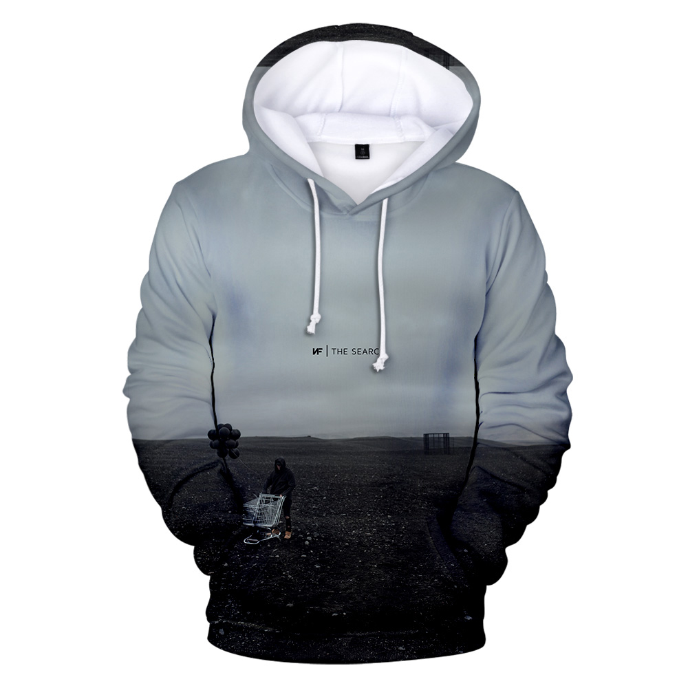 NF 3D Print Fashion Casual Sweatshirts Hoodie  5