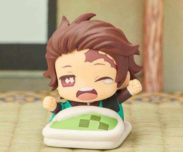 5pcs Demon Slayer Kimetsu no Yaiba Agatsuma Zenitsu Sleeping Q Action Figure Toy