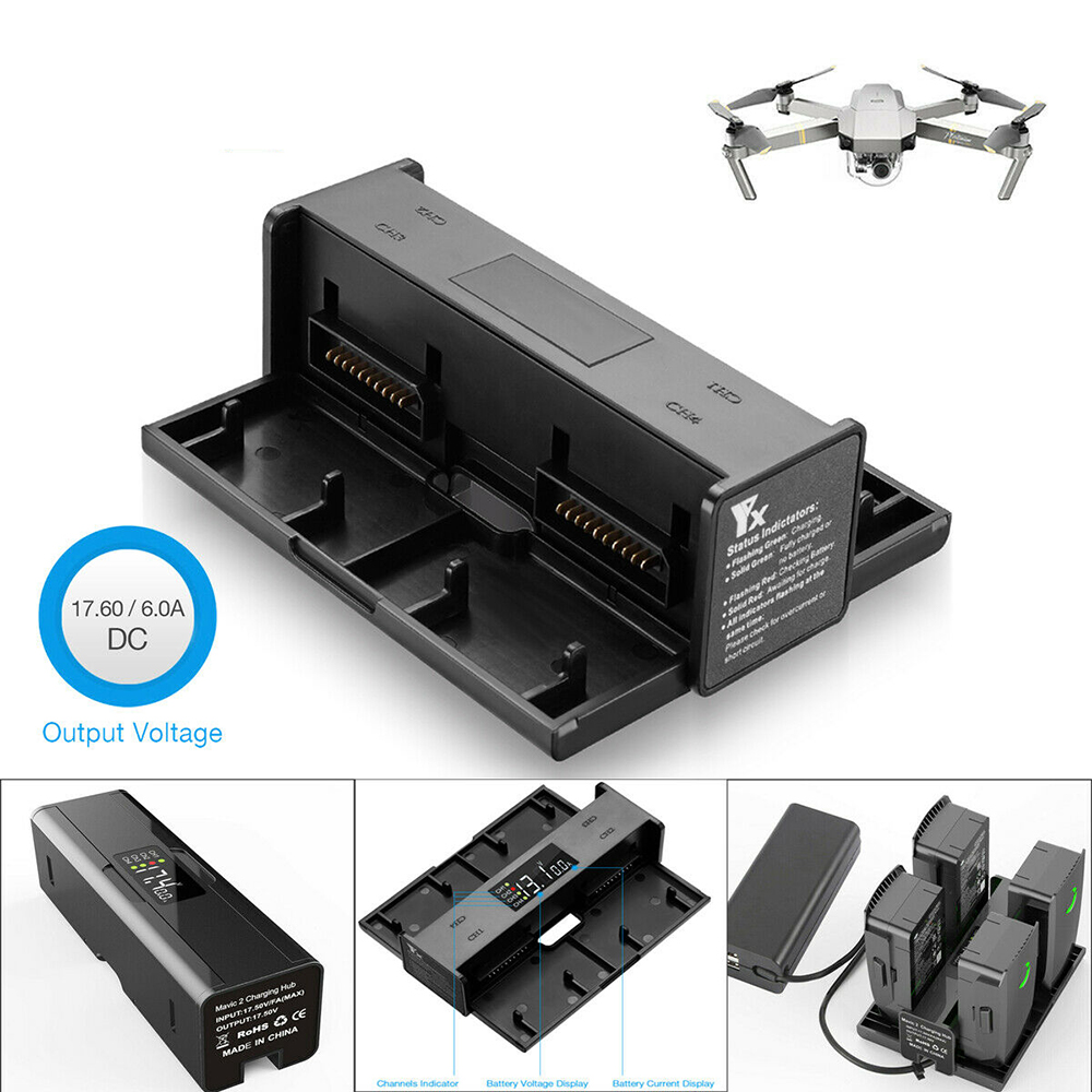 Home & Garden Accessories dbc2.com.au 4 in 1 Battery Charging Hub ...