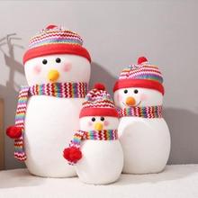 цена на Christmas Decoration Snowman Doll Kindergarten Shopping Mall Scene Decoration Window Large Snowman Old Man Doll Display