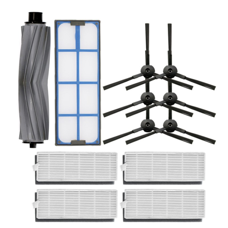 Filters And Brushes Kit Sweeper Accessories Replacement Parts For Ilife A8 A6 X620 X623