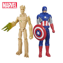 Marvel Legends Capitán América guardianes de la galaxia creciente Groot vengadores Titan Hero Series acción figura juguetes para niños(China)