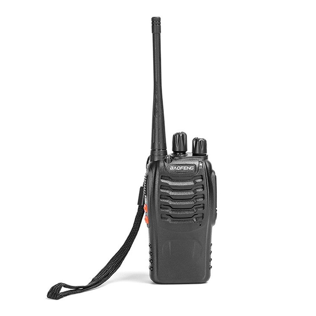 Professional BF-888S Walkie Talkie UHF Two Way Radio Baofeng UHF 400-470MHz 16CH Portable Transceiver Comunicador