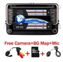 Radio pour voitures avec GPS, 3G, Bluetooth, USB, SD et commande de volant, pour Volkswagen Golf Polo, Passat b6/b7 Tiguan octavia, RNS 510