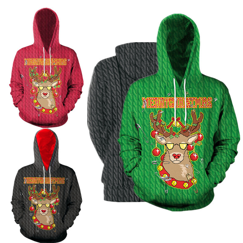 Christmas Jerseys.Us 11 92 40 Off 2019 Ugly Christmas Sweater Unisex Men Women Holiday Santa Elf Pullover Funny Men Women Jerseys Hoodies Autumn Winter Clothing On