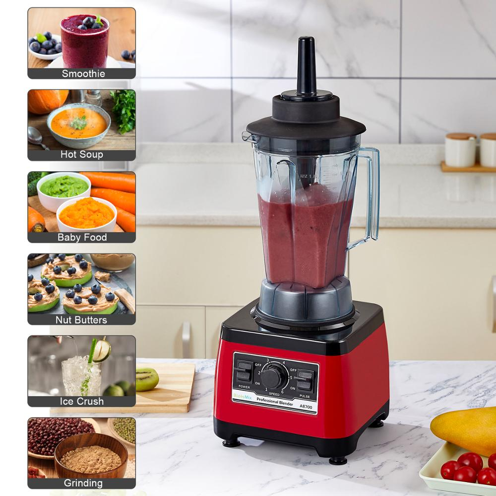 ¡¾7 Years Warranty¡¿BPA Free Heavy Duty Commercial Grade Blender Professional Mixer Juicer Ice Smoothies Peak 2200W