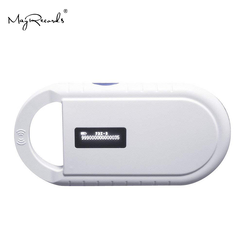 €Hot DealsAnimal RFID Tag-Reader Scanner Pet-Microchip FDX-B Low-Frequency Handheld ISO11785/84