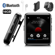 MP4 Player Bluetooth with Clip 8GB/16GB Touch Screen Portable Lossless Music Player Metal Video Player with FM Radio for Running