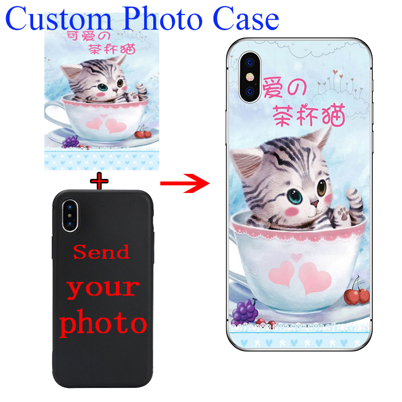 Personalized Customized DIY Case For Samsung Galaxy Note 9 10 S10 S9 S8 A50 A70 A5 2017 A40 A20 A6 A8 A7 2018 Print Photo Cover