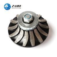 Z LION B20 Diamond Segmented Profiling Bit Router Bit Edge Grinding Wheel Granite Marble Countertop Abrasive Wheel M14 Thread