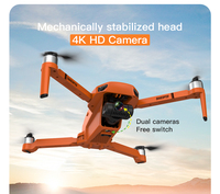2021 new gps drone 4k profesional 8k hd camera 2-axis gimbal anti-shake aerial photography brushless foldable quadcopter 1.2km