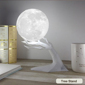 Image 2 - ขนาดใหญ่ 880Ml Air Humidifier Aroma Essential Oil Aroma DiffuserสำหรับHome 3d Led Moon Light USB Aromatherapy Diffuser Dropเรือ