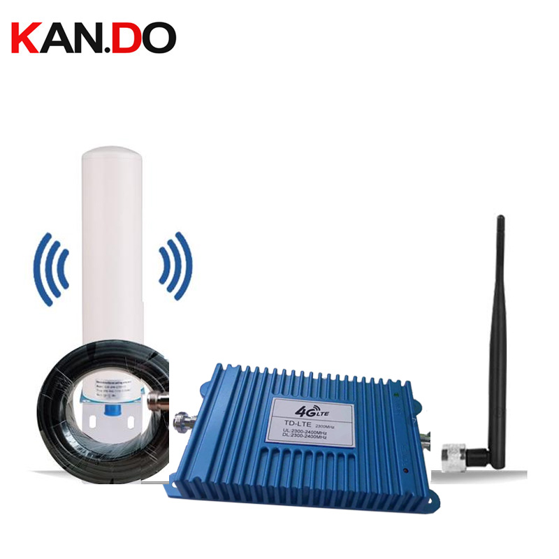 Home Use Special India 4G Band 40 Signal Booster 2300MHz 4G Repeater TDD 2300 Amplier Signal Amplifier 4G LTE With Antenna