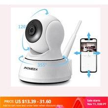 Inqmega 1080 720p ipカメラワイヤレスwifiカム屋内ホームセキュリティ監視cctvネットワークカメラナイトビジョンP2Pリモートビュー