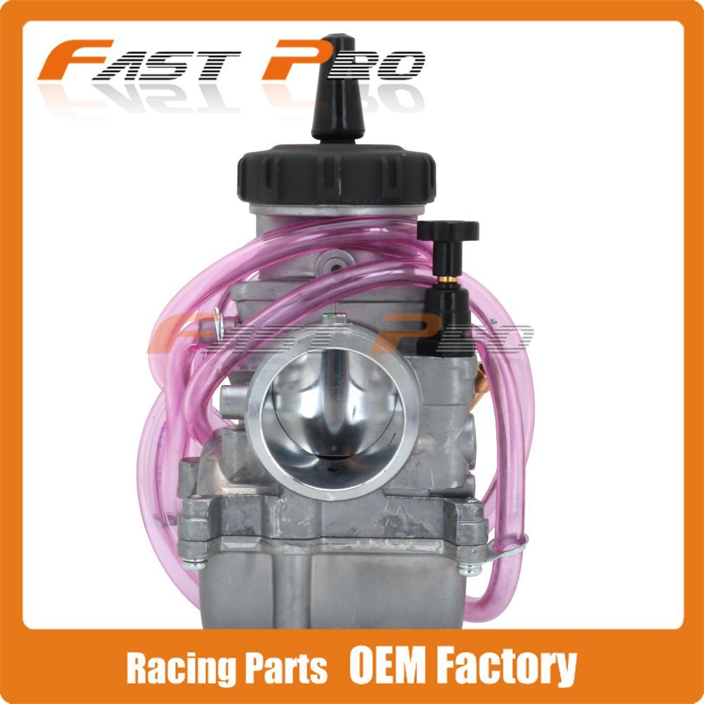 PWK 33 34 35 36 38 40 41 MM PWK33 For Keihi Universal Carburetor Carburador With Power Jet For Racing Moto Dirt Bike Motocross