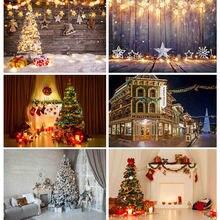 Виниловый фон shengyongbao для фотосъемки на Рождество тематический