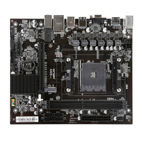 Motherboard Professional Office Dual Channel Replacement Stable A320V For AM4 Socket Control Board Desktop Computer DDR4