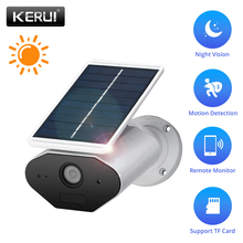 KERUI L4 1.3MP 960P HD Home Security Solar Battery Power WIFI IP Camera Outdoor Waterproof IR Night Vision With Light
