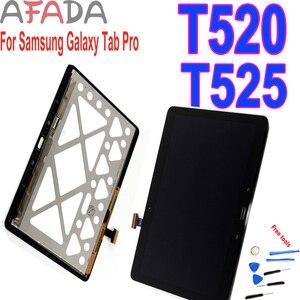 Nuevo reemplazo LCD para Samsung Galaxy Tab Pro T520 SM-T520 T525 SM-T525 LCD pantalla táctil digitalizador montaje reemplazo