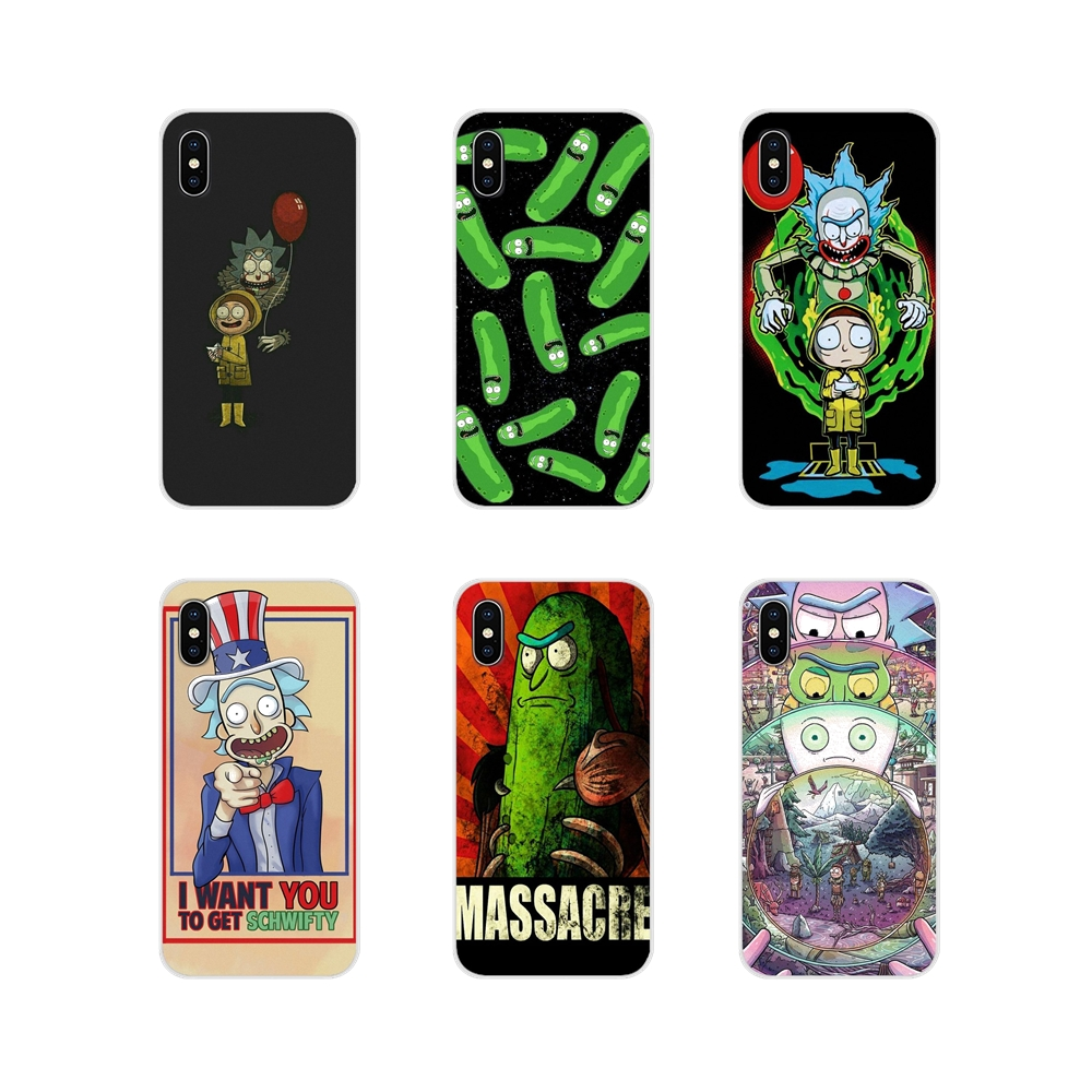 Case Cover Funny Cartoon Comic Meme Rick And Morty For Huawei Nova 2 3 2i 3i Y6 Y7 Y9 Prime Pro GR3 GR5 2017 2018 2019 Y5II Y6II image