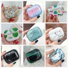 Earphone Case For Apple Airpods Pro Case Marble Silicone Cartoon Cover For Apple Air Pods Pro 3 Headphone Earpods Charging Box(China)