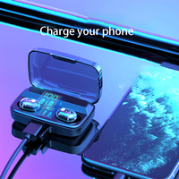 case iphone 5 Wireless 5.0 Bluetooth headset 3D Stereo Wireless Earphone Headset 1800mAh Battery LED Display Charge Case For iPhone Xiaomi Hua (2)