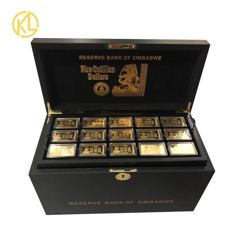 뜨거운 무료 페덱스 ie 배송 270pcs 골드 도금 금속 바 나무 상자 vip 클라이언트 선물에 대 한 좋은 골드 바 인증서와 함께 설정-에서금 지페부터 홈 & 가든 의  그룹 3