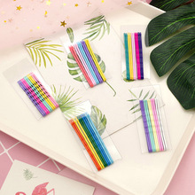 10Pcs/Set Colorful Metal Hair Clip Hairband Cute Bobby Pin Barrette Hairpin Headdress Accessories Beauty Styling Tools two tone bobby pin set 10pcs