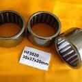10-50 шт HF3020 односторонние Игольчатые роликовые подшипники 30x37x20 вытянутая чашка игольчатый подшипник сцепления 30*37*20 мм