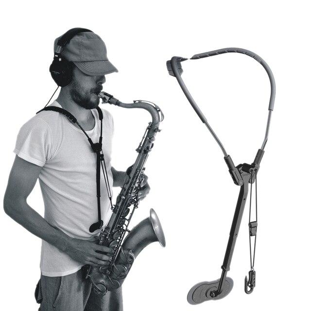 New Alto Saxophone Adjustable Neck Strap Accessories Saxophone Strap Shoulder Hanging Saxophone Support Belt
