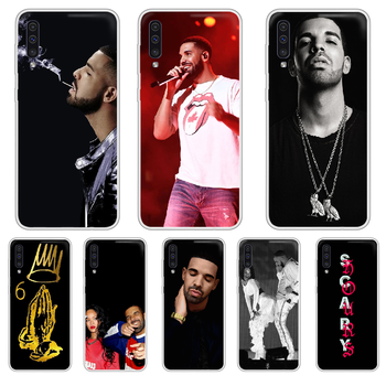 Rapper Aubrey Drake Graham Phone Case cover For XIAOMI Redmi Note 3 4 5 6 7 8 9 9s Pro max 8T 4X transparent shell art image