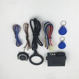 12V Car Alarm Car Engine Push