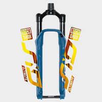 ROCK SHOX SID-pegatina de horquilla, fondo transparente, para bicicleta de montaña, calcomanías de ciclismo, 2020