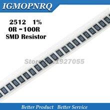 Pcs 2512 SMD chip resistor 1% 1 50 W 0.1R 0.01R 0.05R 0.001R 0.33R 1R 0R 10R 100R 2W 0.001 0.01 0.1 0.33 0.05 1 0 10 100 ohm