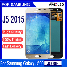 "Original 5.0""Amoled J500 LCD For Samsung Galaxy J5 2015 J500F J500H J500M J500FN LCD Display Touch Screen Digitizer Assembly"