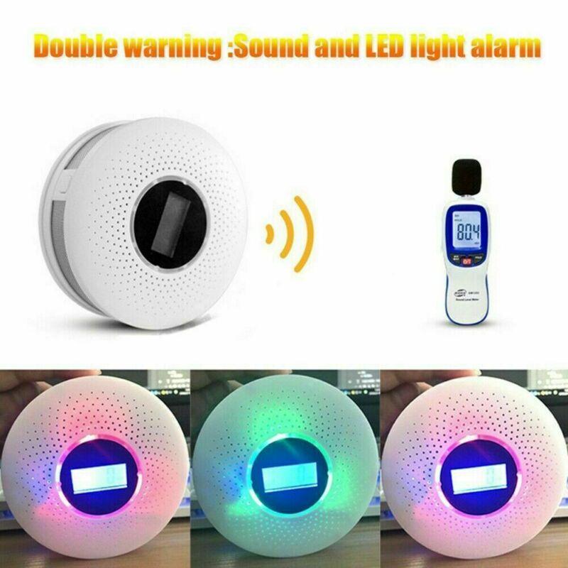 Carbon Monoxide Alarm CO Smoke Detector Stable Security LED Display Gas Sensor