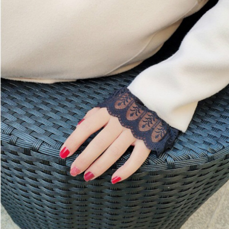 Stylish Layered Sleeve Wrist Cuff