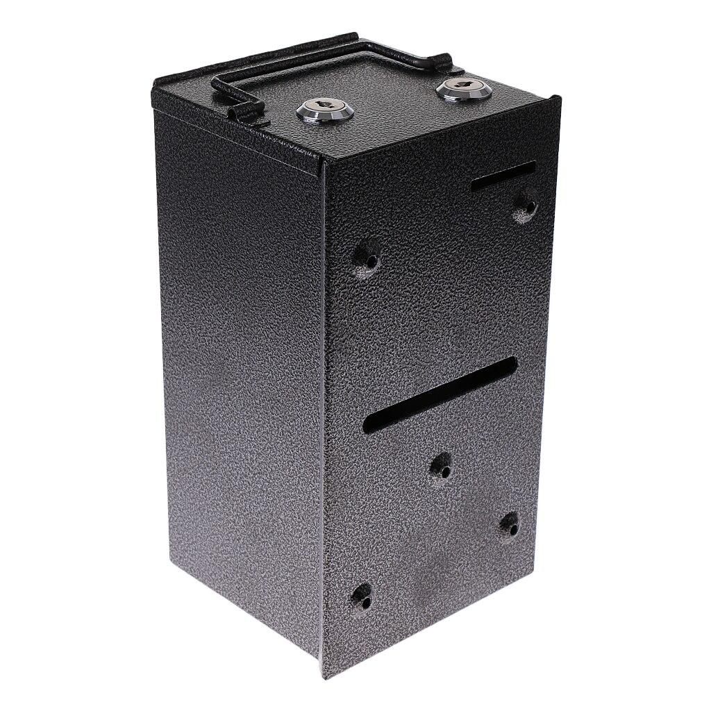 Petit distributeur de métal Toke Box caisse contenant w/j-crochet Las Vegas Casino Style