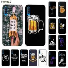 Fhnblj Bier Alcohol Vodka Telefoon Case Voor Samsung A10 20 S 71 51 10 S 20 30 40 50 70 a30s Cover(China)