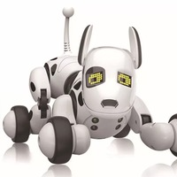 Smart RC Robot Dog Walk Dance Interactive Pet Puppy Robot Dog Remote Control Intelligent Brinquedos Eletronicos Kids Toy BA60DZ