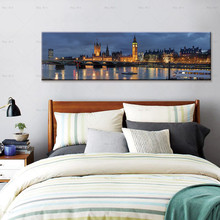Canvas Paintings City Painting Landscape Poster Prints Building Wall art Pictures for Living Room