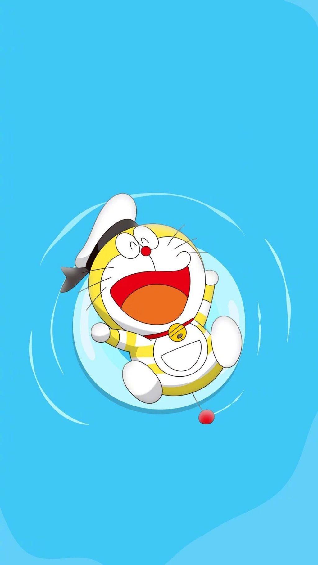 哆啦A梦壁纸:可爱哆啦A梦蓝胖子手机壁纸插图21