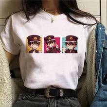 T-shirts femininas anime japonês feudal demônio inuyasha t camisa xamã rei gráfico dos desenhos animados de manga curta verão camiseta feminina
