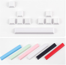 Blank Keycaps Set Durable PBT Keycap OEM Profile Compatible With Cherry MX 104 87 GH60poker mechanical keyboard gaming недорого
