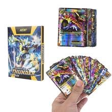 Набор из 30 штук Pokemon EX MEGA Lost Thunder No Repeat Game Battle Carte Trading V MAX GX TAG TEAM Series Сияющие карты коллекция
