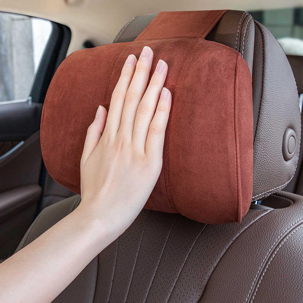 Jinserta may-bach 디자인 s 클래스 자동차 목 베개 머리 받침 좌석 지원 여행 베개 목 보호대 자동차 좌석 액세서리