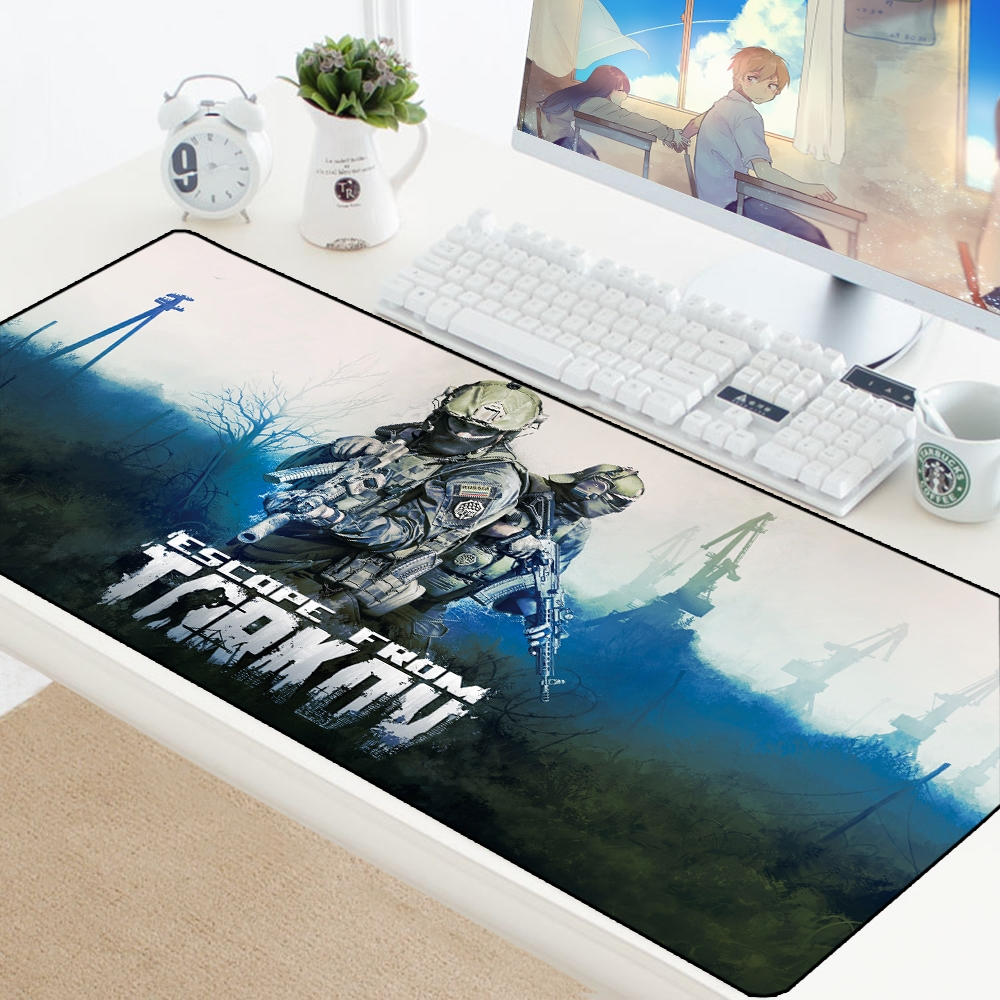 Escape from Tarkov Mouse Pad Big Gamer Play Mats Computer Gaming Accessories XL Large Mousepad Keyboard Rubber Games pc Desk Pad 1