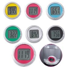 1 Pcs Mini Motorcycle Clocks Watch Waterproof Stick-On Motor